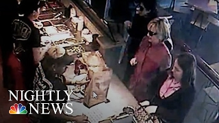 Hillary Clinton Stops at Chipotle On Trip To Iowa | NBC Nightly News