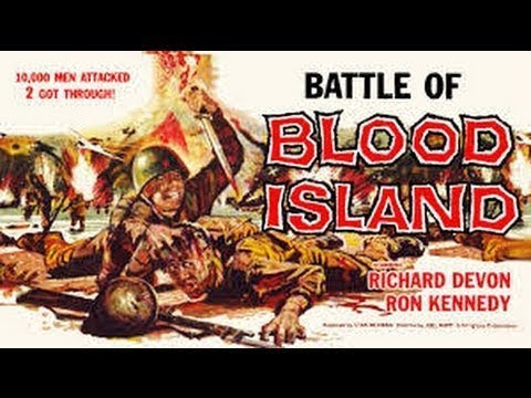 Battle of Blood Island 1960  FULL Movie  Richard Devon, Ron Gans, Roger Corman