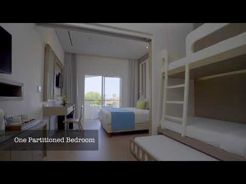 Bali Family Resort Family Studio Bunk at Grand Mirage Resorts