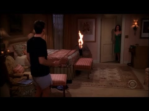 Two and a Half Men  Charlie's First Time with Mia HD