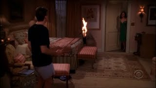 Two and a Half Men - Charlie's First Time with Mia [HD]