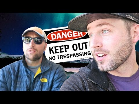 BREAKING THE LAW IN ALASKA + A Message to My Viewers
