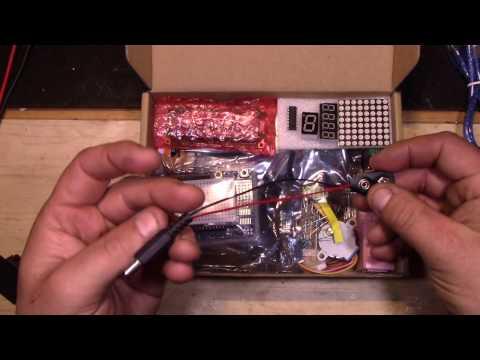 # 192 - Arduino - Présentation dun kit Arduino débutant de chez Banggood