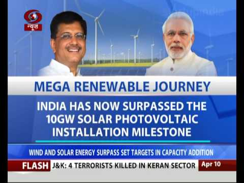 Economy Today:  India moving towards Renewable Energy targets