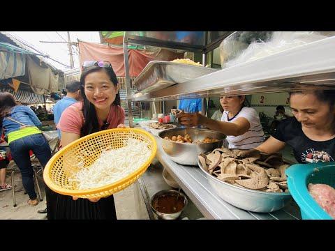 Về Cà Mau #6| Quán Bánh Lọt Tiều hơn nửa thế kỷ, đặc biệt 100% bột gạo siêu ngon trong chợ Phường 2