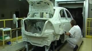 Wycieczka po Fabryce Samochodów Osobowych S.A. - Oryginalny film z FSO