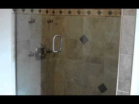 8 Point Body Spray Glass Enclosed Shower at 4716 Richmond - YouTube
