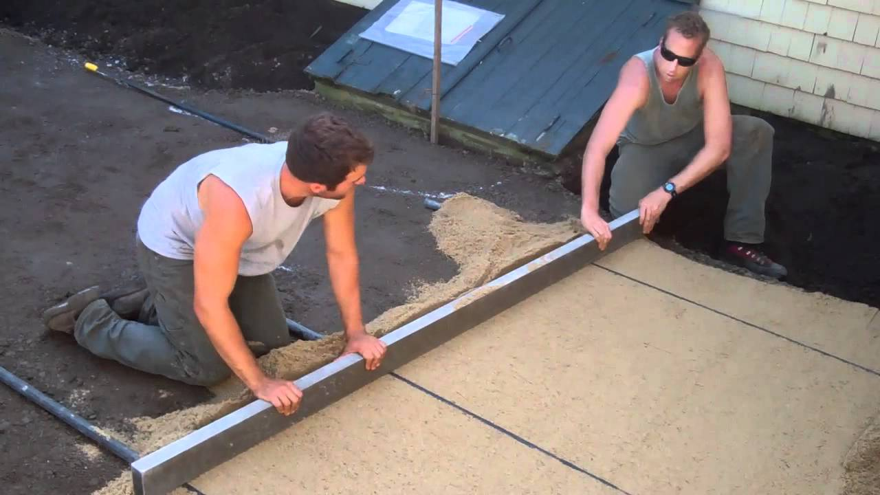 How to Build a Patio Part Two  YouTube