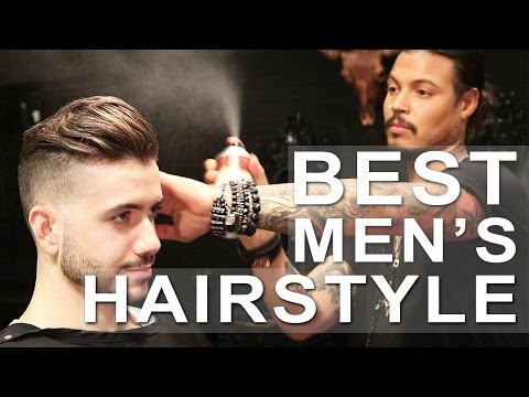BEST MEN'S HAIRSTYLE 2017 - Ft. Daniel Alfonso | Men's haircut | Alex Costa