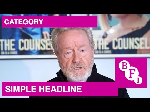 Ridley Scott on his brother Tony's feature debut, The Author of Beltraffio