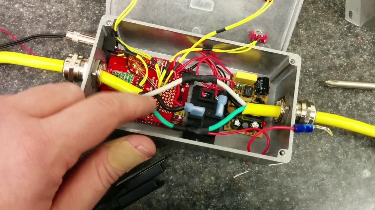 liftlocker a wireless interlock for a four post car lift youtube