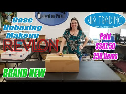 Unboxing Assorted Revlon Cosmetics Case