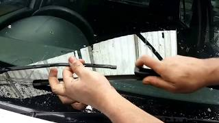 How to replace wiper blades Renault
