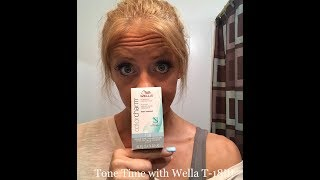 Tone Time with Wella T18!