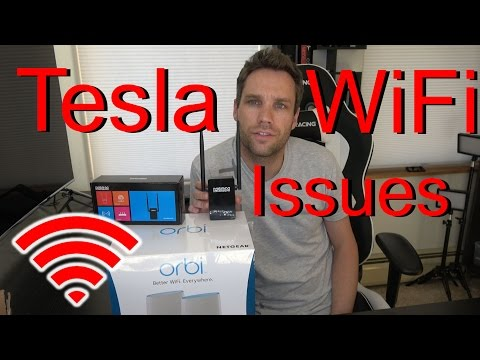Tesla WiFi Issues     SOLVED! - YouTube