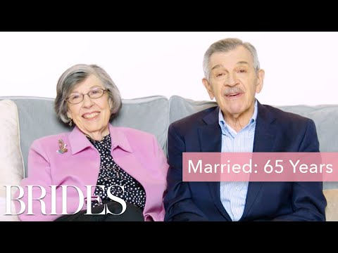 Couples Married for 0-65 Years Answer: What's the Best Part About Being Married?   Brides