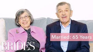 Couples Married for 0-65 Years Answer: What's the Best Part About Being Married? | Brides