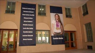 Disparition de Camille Muffat: Nice rend hommage à la nageuse