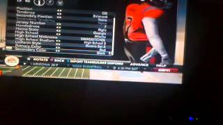 NCAA 12. RTG Johnny Anderson MiKE Vick Nephew!!!