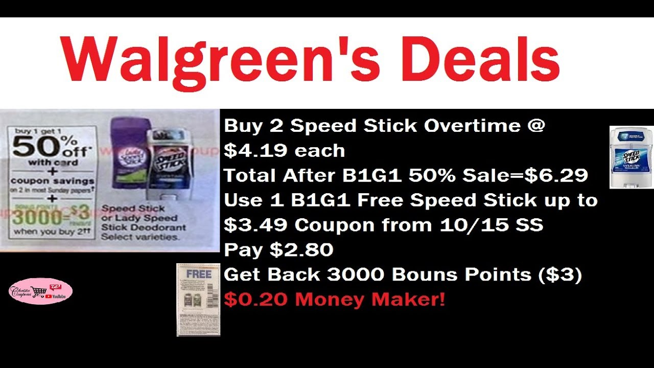 Walgreen's Deals This Week 10/15/17 to 10/21/17 -- Walgreen's ...