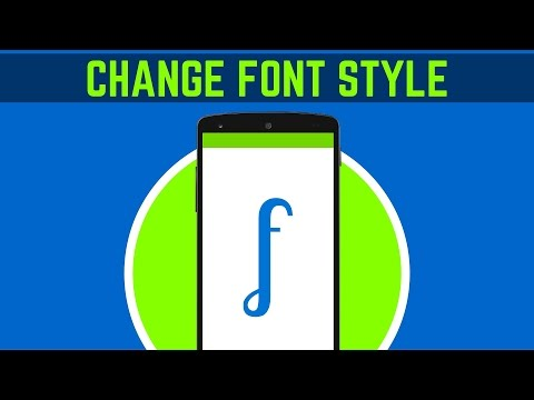 22. HOW TO CHANGE THE FONT STYLE IN ANDROID STUDIO | ANDROID APP DEVELOPMENT