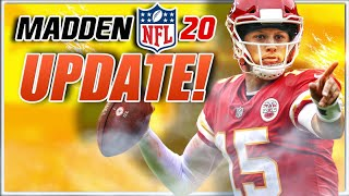 Madden 20 Major Update to Running Game and New Abilities Added!