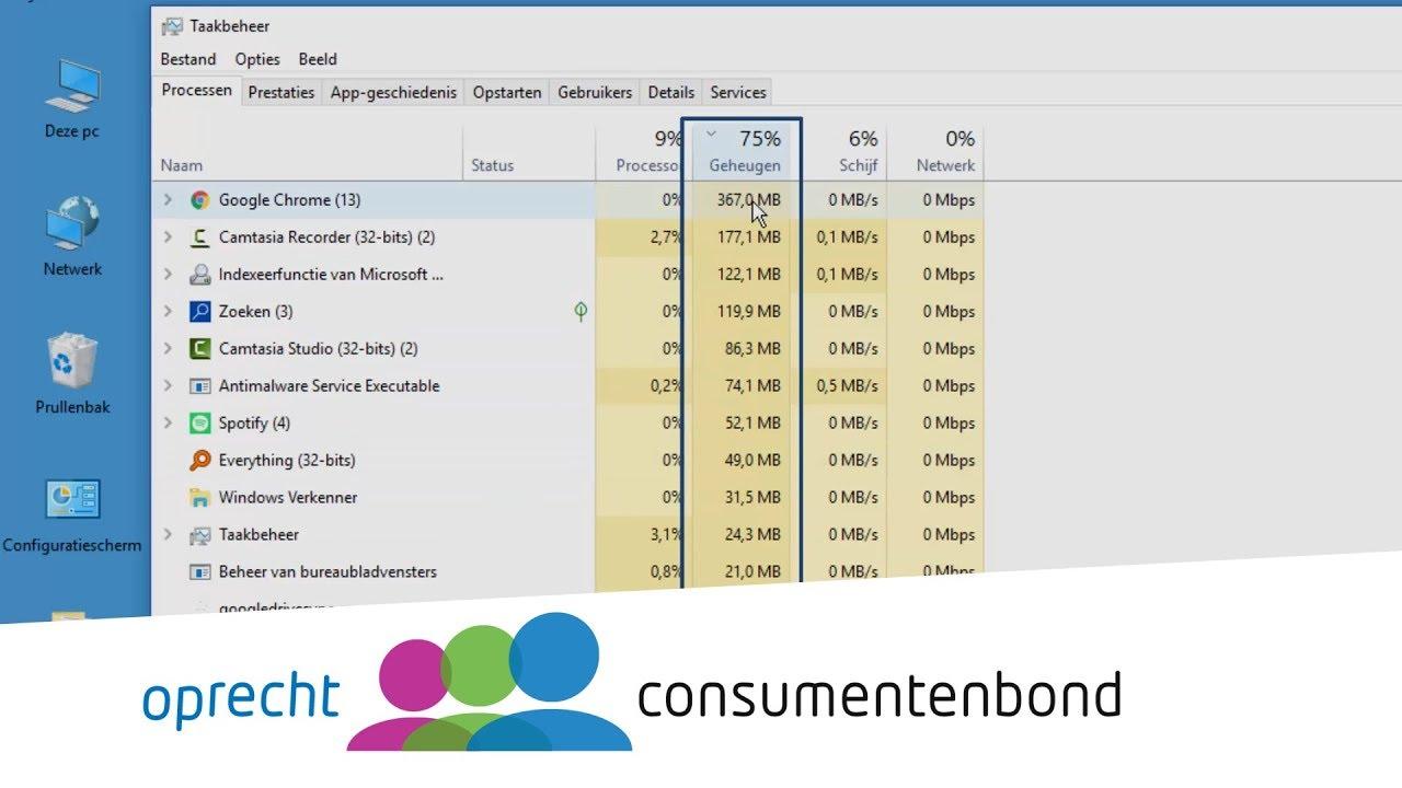 windows 10 sneller maken - how to (consumentenbond) - youtube