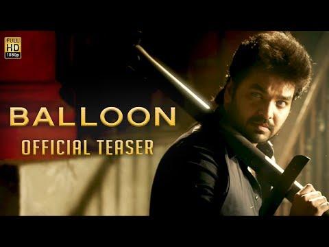 Download Youtube: Balloon - Official Teaser | Jai, Anjali, Janani Iyer | Yuvan Shankar Raja | Sinish