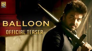 Balloon Tamil Trailer HD | Jai, Anjali, Janani Iyer, Yuvan Shankar Raja, Sinish