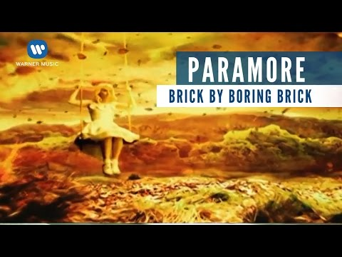 Paramore - Brick By Boring Brick (Official Music Video)