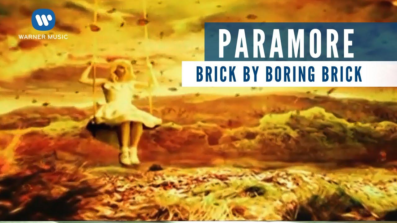 Paramore - Brick By Boring Brick Chords   Ver  1
