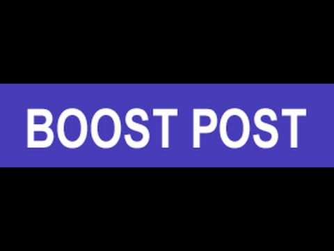Boost your Facebook Post for Local Advertising