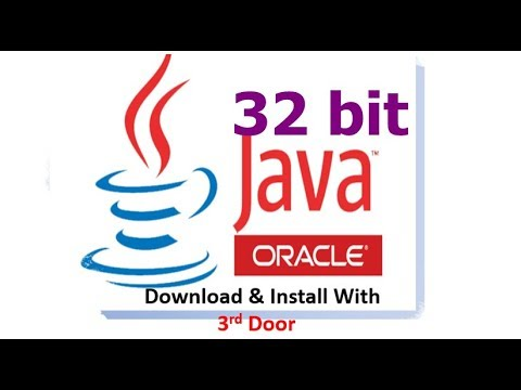How To Install JAVA For 32bit Operating System