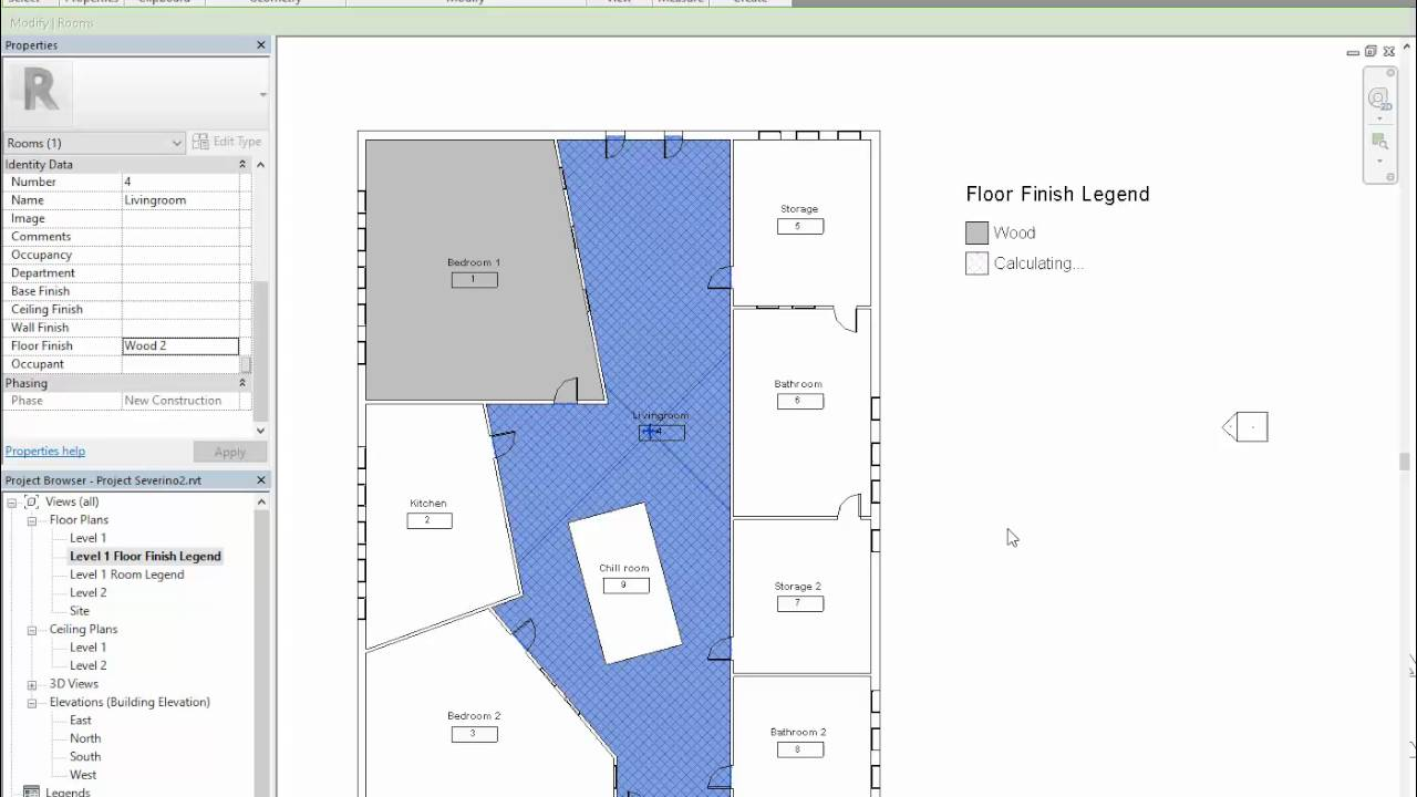 Floor Finish Plan Tutorial You