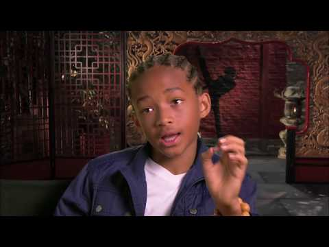Karate Kid    A Day on the Set with Jaden Smith