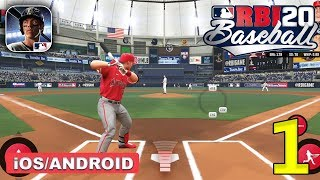 R.B.I. Baseball 20 Gameplay Walkthrough (Android, iOS) - Part 1
