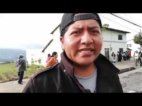 Paro Nacional En Otavalo, Dia 4. Iluman.