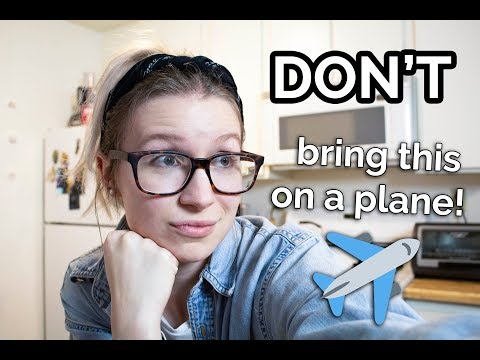 foods allowed on a plane | Osi Talks