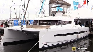 2017 Bali 4.5 Catamaran - Deck and Interior Walkaround - 2016 Annapolis Sail Boat Show