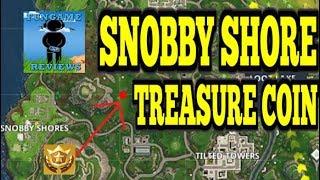Fortnite - Battle Pass Challenge - Week 3 - Snobby Shore Treasure Map Location Revealed