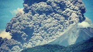 Грандиозный взрыв вулкана и СЧАСТЛИВЧИКИ выжившие!!!