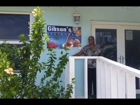 Gibson's #2 Restaurant, Crooked Island Bahamas