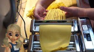 Rosalie erklärt: Spaghetti selber machen mit Marcato Nudelmaschine mit Atlasmotor - German / deutsch