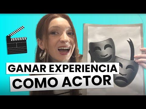 Como CONSEGUIR EXPERIENCIA para SER ACTOR o ACTRIZ 🎬🎭