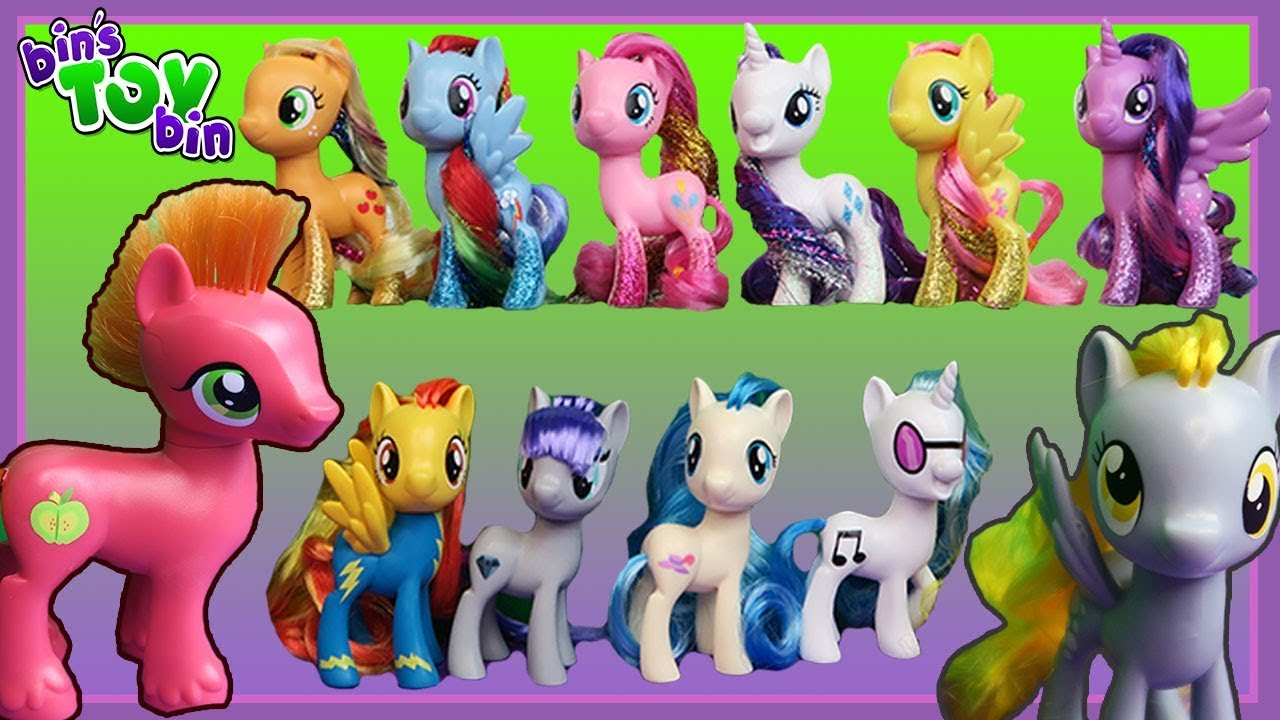 My Little Pony The Movie G4 Walmart Exclusive Pirate Ponies FLUTTERSHY
