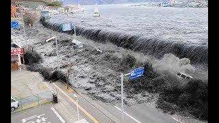 Japan Tsunami I إعصار تسونامي المرعب