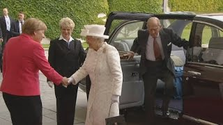 The Queen begins fifth State visit to Germany