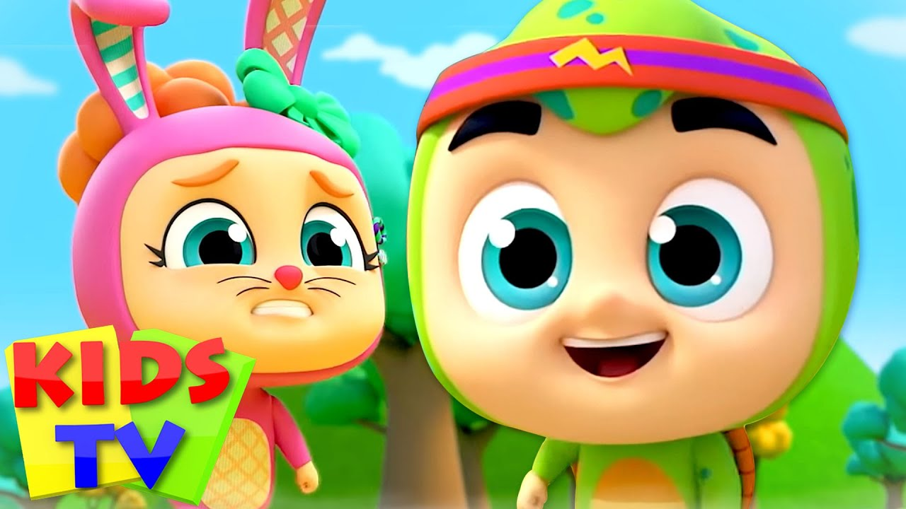The Tortoise and the Hare Fairy Tales and Bedtime Stories for Kids - Pretend & Play Song by Kids Tv