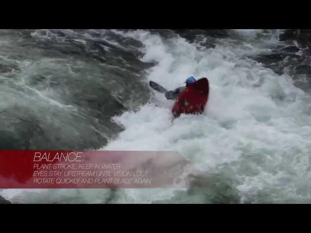 Whitewater Kayak Cartwheels in 20 seconds