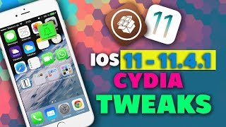 Top 10 iOS 11 - 11.4 - 11.4.1 Jailbreak Tweaks! (Unc0ver & Electra 2019)